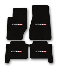 2005-2008 Jeep Grand Cherokee SRT 8 - Black Carpet 4pc Floor Mat Set with Logo