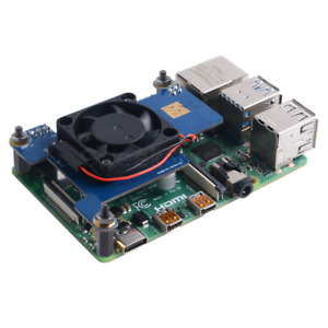 PoE HAT Power Over Ethernet IEEE802.3af with Cooling Fan use for Raspberry Pi 4B