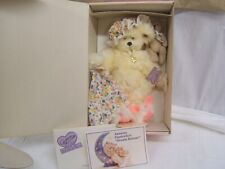 """Annette Funicello Collectible Bear #C36441 Dream Keeper 14"""" Ht Orig Box"""