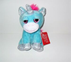 """RUSS LIL PEEPERS 6""""  PLUSH TWINKLE THE BLUE UNICORN NEW WITH TAG"""