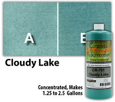 Professional Easy to Apply Water Based Concrete Stain- Cloudy Lake