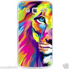 Coque Samsung Galaxy Core Prime - Silicone - Motif Lion
