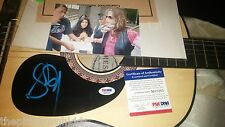AWESOME STEVEN TYLER AEROSMITH SIGNED GUITAR CERTIFIED BY PSA DNA VERY COOL