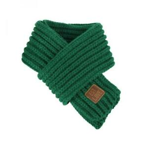 New Kintting Scarf Wool Fashion Kids Flexible Winter Children Neck Warmer Outfit