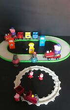 PEPPA PIG TRAIN SETS,PLAY SET TOYS WITH FIGURES BUNDLES
