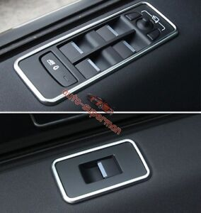 chrome Door Window Switch panel frame cover trim land rover Discovery Sport 2015