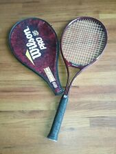 Wilson Pro 95 Super High Beam Series Tennis Racket with case 4 3/8 Grip