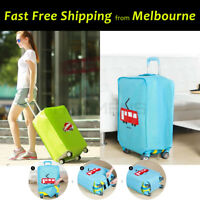 """20"""" ~28"""" Travel Luggage Cover Trolley Suitcase Protector Nonwoven Dust Proof Bag"""
