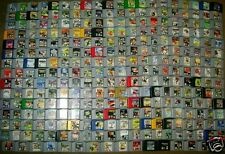 NINTENDO 64 N64 COMPLETE COLLECTION OF 296 GAMES CLEANED TESTED WORKS PERFECTLY!