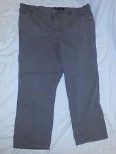 GLORIA VANDERBILT Brown Stretch Classic Fit  Denim Jeans Size 22W EUC