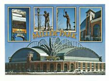 MILWAUKEE BREWERS MILLER PARK 3/1 POSTCARD