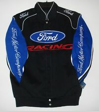 Size SM Authentic Ford Racing Cotton  Jacket JH  Design