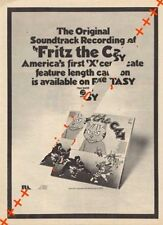 Fritz The Cat Film LP advert Time Out clipping 1971/2