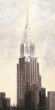 Talantbek Chekirov: Chrysler Building, N.Y.C Fertig-Bild 50x100 New York