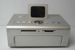 """Dell USB 540 Thermal 4"""" x 6"""" Photo Printer w/Card Reader Untested No AC Adapter"""