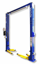 Elite JL35A-M 2 post clear floor vehicle hoist 4 ton car lift 3ph or 240V
