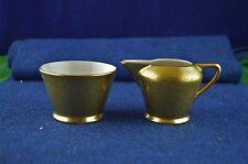 Lovely Vintage Pickard China Rose Gold ''Sugar Bowl & Cream Jug'' No 486 RD7766
