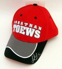 New NHL Jonathan Toews Baseball Hat Cap Adjustable Chicago Blackhawks Red/Gray