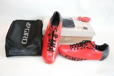 New Giro Empire ACC Road Bike Shoes 48 13.5 EC90 Carbon Red Black 3-Bolt Men's