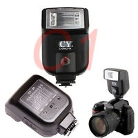 YinYan CY-20 Hot Shoe Flash Sync Port For Canon  Nikon Pentax  DSLR Camera
