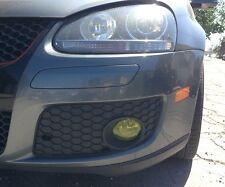06-09 Volkswagen GTI / Golf Yellow Fog light Overlays JDM TINT PreCut Vinyl Film