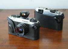 Mr. Zhou Black Leather Half Case for Voigtlander Bessa R R2 R3a R4 L T Cameras
