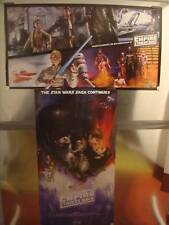 EMPIRE STRIKES BACK HASBRO 16x30 D/S Original Promo Poster SDCC 2010 Comic Con