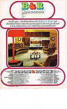 publicités advertising   1968   Bobois & Roche   meubles