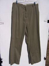 Bagatelle Women's Olive Green Pants Size 14