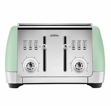 Sunbeam TA2240G London Collection 4 Slice Toaster - Green - HURRY LAST ONE!
