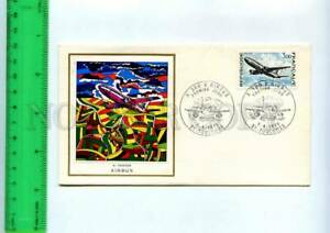 254791 FRANCE Airbus A 300 AVIATION HISTORY 1973 year FDC