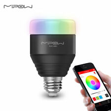 MIPOW Smart LED RGB Light Bulb Dimmable Color Changing Christmas Party Lighting