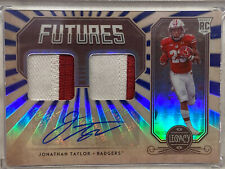 Jonathan Taylor 2020 Legacy Futures RC Rookie Dual Patch Auto 5/25 Badgers Colts