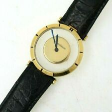 1960's LeCoultre Man's 18K Gold Mystery Style Wrist Watch ESTATE FIND