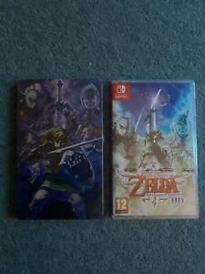 The Legend of Zelda - Skyward Sword HD - Nintendo Switch & STEELBOOK
