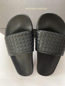 NIB $580 Bottega Veneta Mens Leather Speedster Sandal Italy Sz 11 E