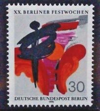 GERMANY BERLIN 1970 20th Folklore Week. Set of 1. Mint Never Hinged. SGB373