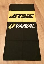 Jitsie Multi Scarf Varial Neck Warmer Buff Black/Yellow Trials Cycling Road Moto