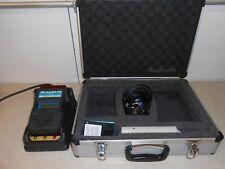 PGD 2 STATUS SCIENTIFIC CONTROLS PORTABLE GAS DETECTOR  COMPLETE IN CASE