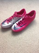 Nike Mens Rare Mercurial Miracle FG 396131 640 Pink Silver Soccer Cleats Boots 9