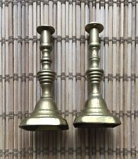Dolls House Brass Candle Sticks