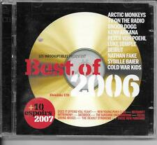 2 CD COMPIL 20 TITRES--BEST OF 2006--ARKANA/FAKE/ARCTIC MONKEYS/SNOOP DOG/FIELDS