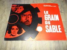 LE GRAIN DE SABLE l terzieff  koscina pierre brasseur dossier presse cinema 1964
