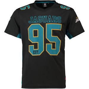 NFL Jacksonville Jaguars Jersey Shirt Moro Polymesh Football Black
