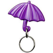 Gadget portachiavi a forma di ombrello color LILLA ombrellino mare sole pioggia