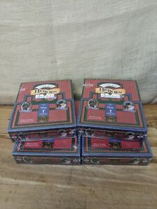 4x 1993 Upper Deck T202 Heroes of Baseball T Series Triple Fold Cards Sealed Box