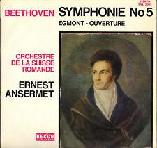 "ERNEST ANSERMET, BEETHOVEN ""SYMPHONIE N° 5"" 60'S LP DECCA SXL 2003 STEREO"