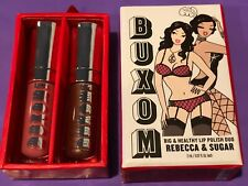 """Bare Escentuals Buxom Lips Duo Lip Polish """"Rebecca & Sugar"""" 0.07 fl oz"""