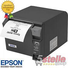EPSON STAMPANTE TERMICA POS TM-T70II USB + ETHERNET LAN SCOMMESSE SCONTRINI 80mm