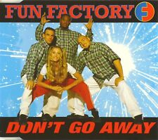 Maxi CD - Fun Factory - Don't Go Away - #A2298